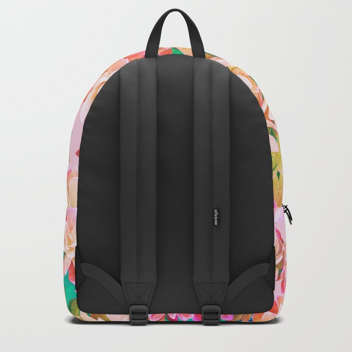 Cactus Fall - Pink and Green Backpack