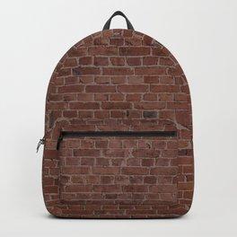Brooklyn NYC Loft Apartment Brown Stone Brick Wall Backpack