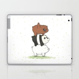 We Bare Bears by Maria Piedra Laptop & iPad Skin