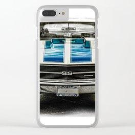CLASSIC CAR LOVE Clear iPhone Case