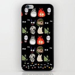 Wall of Ghibli iPhone Skin