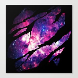 Deep Space Inside Canvas Print