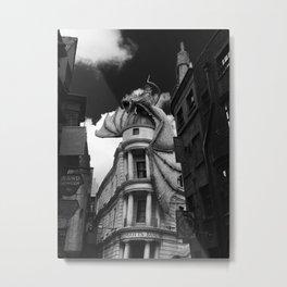 Gringotts Bank Metal Print
