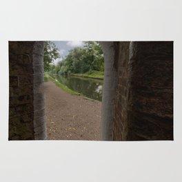 Drayton footbridge Rug