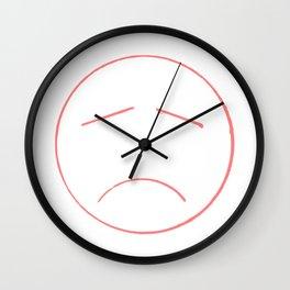 Unsmile Wall Clock