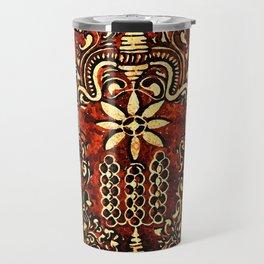 Bohemian Carvings Travel Mug