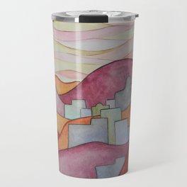 Colorful Hillsides Travel Mug