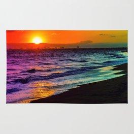 Rainbow Sunset Rug