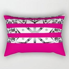 Dancing stripes 2 Rectangular Pillow