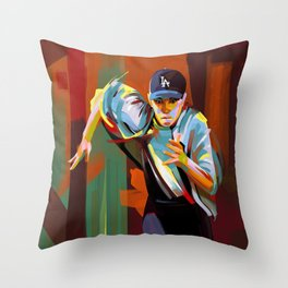 The Showdown Throw Pillow