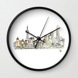 Shanghai Wall Clock