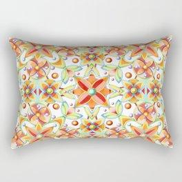 Suzani Textile Pattern Rectangular Pillow