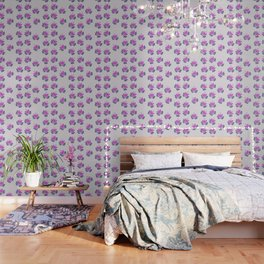 Born of Lotus Abstract Art Wallpaper