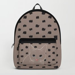 Cat stare Backpack
