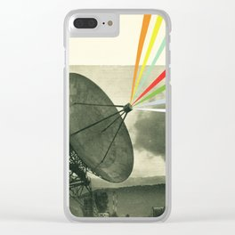 Earth Calling Clear iPhone Case