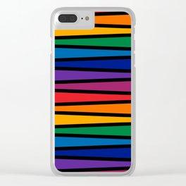 Spectrum Game Board Clear iPhone Case