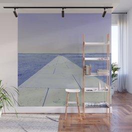 Purple sea Wall Mural