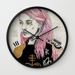 Cuore Morte Wall Clock