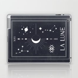 The Moon or La Lune Tarot Laptop & iPad Skin