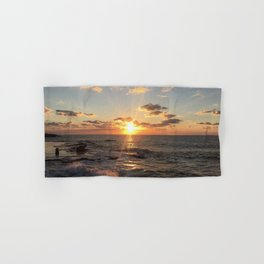 Mediterranean Sunset (Joppa) Hand & Bath Towel