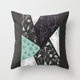 DARKSTAR GEOMETRIC Throw Pillow