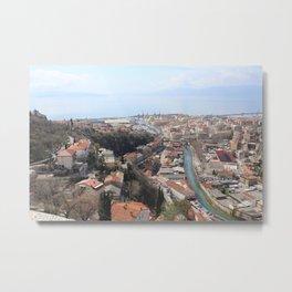View of Rijeka, Croatia Metal Print