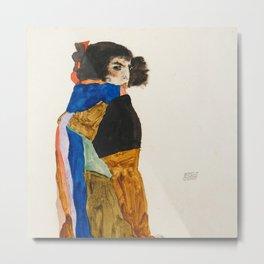 """Egon Schiele """"Moa"""" Metal Print"""