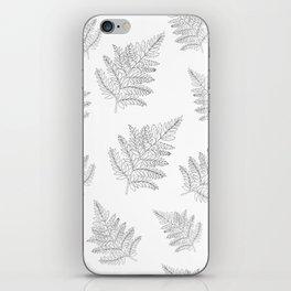 Farn Pattern iPhone Skin