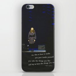 regina spektor live in toronto - on the radio iPhone Skin
