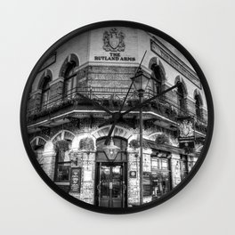 The Rutland Arms London Wall Clock