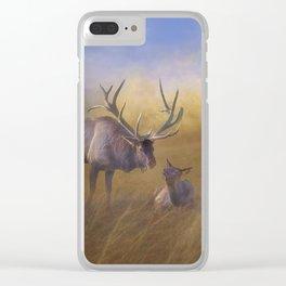 Benezette Elk Clear iPhone Case