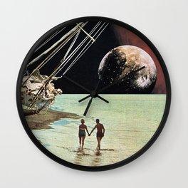 Set Sail for the Stars Wall Clock