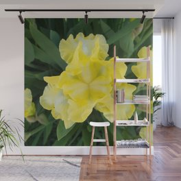 Yellow Iris by Teresa Thompson Wall Mural