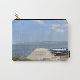 By The Boats Carry-All Pouch