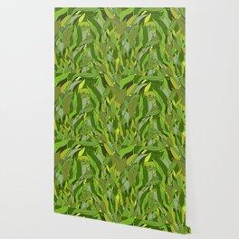 Lucky Bamboo in Porcelain Bowl Wallpaper