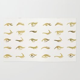 Mascara Envy – Gold Palette Rug