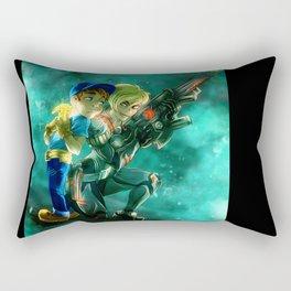 Felix Jr and Sergeant Calhoun Rectangular Pillow