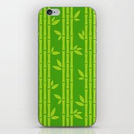 Evergreen Chinese Bamboos iPhone Skin