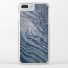 Stone Galaxy Clear iPhone Case