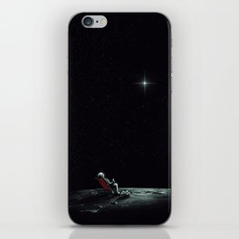 Space Chill iPhone Skin
