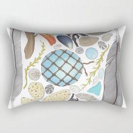 Coastal Treasures Rectangular Pillow