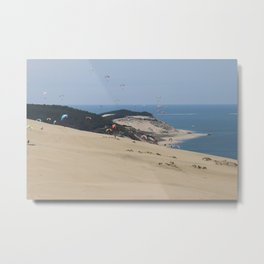 Colourful Dunes Metal Print