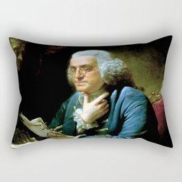 Ben Franklin Rectangular Pillow