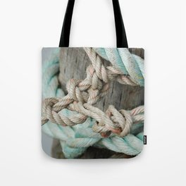 TIED TO THE MOORING #1 Tote Bag