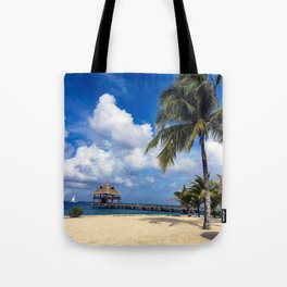 Pathway to Paradise Tote Bag