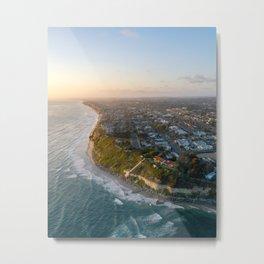Cali Coastline Metal Print