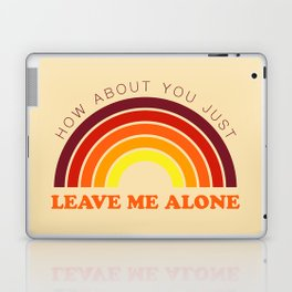 The Introvert's Plea - Retro Palette Laptop & iPad Skin