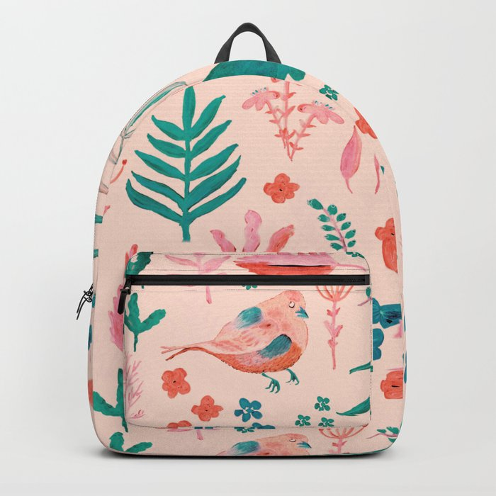 Pink Nature Backpack