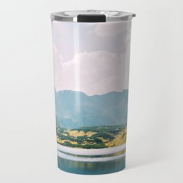 Autumn Mountain Lake Travel Mug