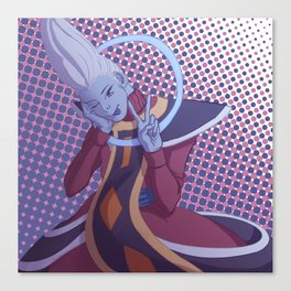 More Whis Coming to NA Soon (sans text) Canvas Print
